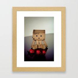 Danbo Framed Art Print