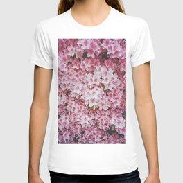 Flashing the pink azaleas  T-shirt