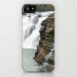 Letchworth Upper Falls iPhone Case