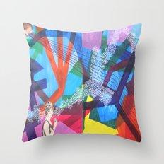 Tríptic Throw Pillow