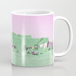 Moroccan Dar in Green Coffee Mug