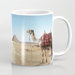 Pyramids of Giza, Egypt. Coffee Mug