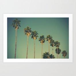 Hollywood Summer Art Print