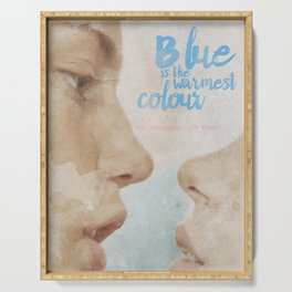 Blue is the warmest colour - chapter one - hand-painted movie poster - Serving Tray