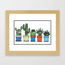 The Succulents Framed Art Print