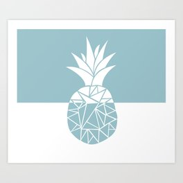 Pineapple Dreams Art Print