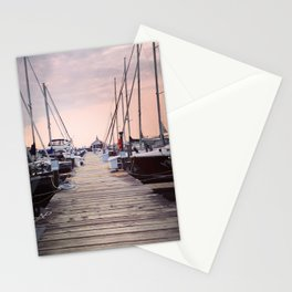 Sunrise at Northport Marina Stationery Cards