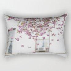 Pink Blossoms Rectangular Pillow