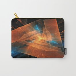 Triangular abstraction Carry-All Pouch