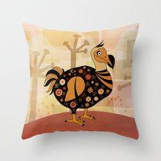 dodo Throw Pillow