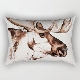 Deer | Scandinavian Moose Rectangular Pillow