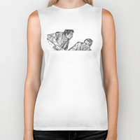marty mcfly Biker Tanks featuring mcfly by BzPortraits