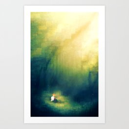 Forest of Reading Art Print