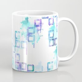 Frostbite Abstract Pattern Coffee Mug