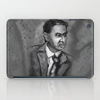 sagan iPad Cases featuring Carl Sagan by Wesley S Abney