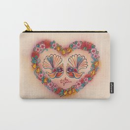 Sweetheart Fantails Carry-All Pouch