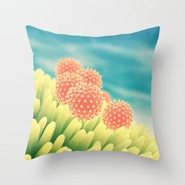 Pollen allergy Throw Pillow
