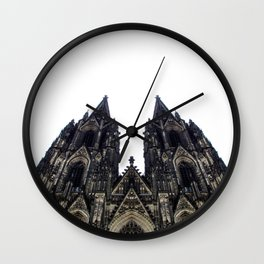 cologne cathedral. Wall Clock