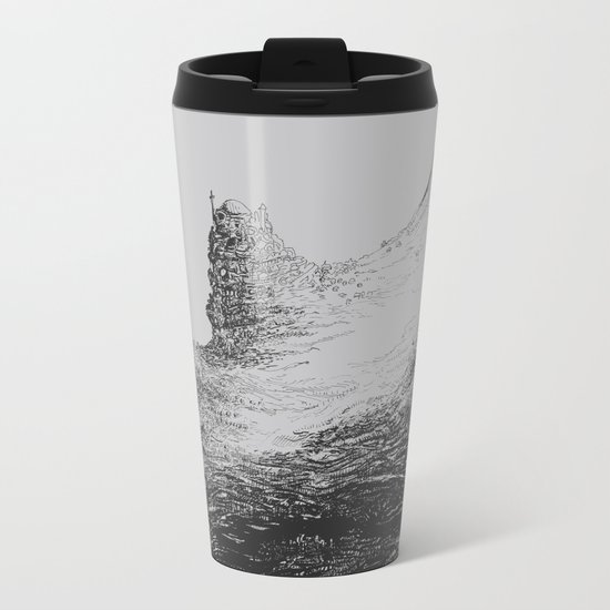 Rhinoceros Valley Metal Travel Mug