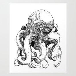 Octopus VI Art Print