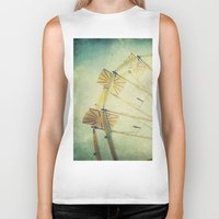 ferris wheel Biker Tanks featuring Ferris Wheel by Honey Malek
