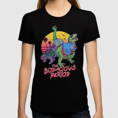 The Bodacious Period Womens Fitted Tee LARGE Black