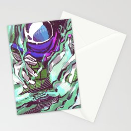 An illusion Stationery Cards
