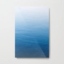 Smooth Ice Metal Print