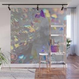 Aurora Borealis Crystals Wall Mural
