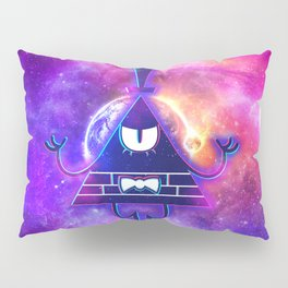 Bill Cipher Mystical Pyramid - Eye Of Providence Pillow Sham
