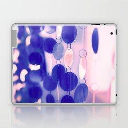 GLAM CIRCLES #Soft Pink/Blue #1 Laptop & iPad Skin