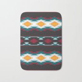 Native American Inspired Design Bath Mat