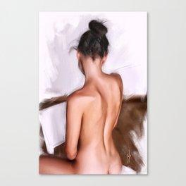 """figure.study_12.11.15"" Canvas Print"