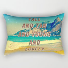 Girl from Ipanema #1 - A Hell Songbook Edition Rectangular Pillow