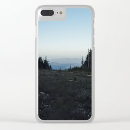 Whiteface Ski Mountain Clear iPhone Case