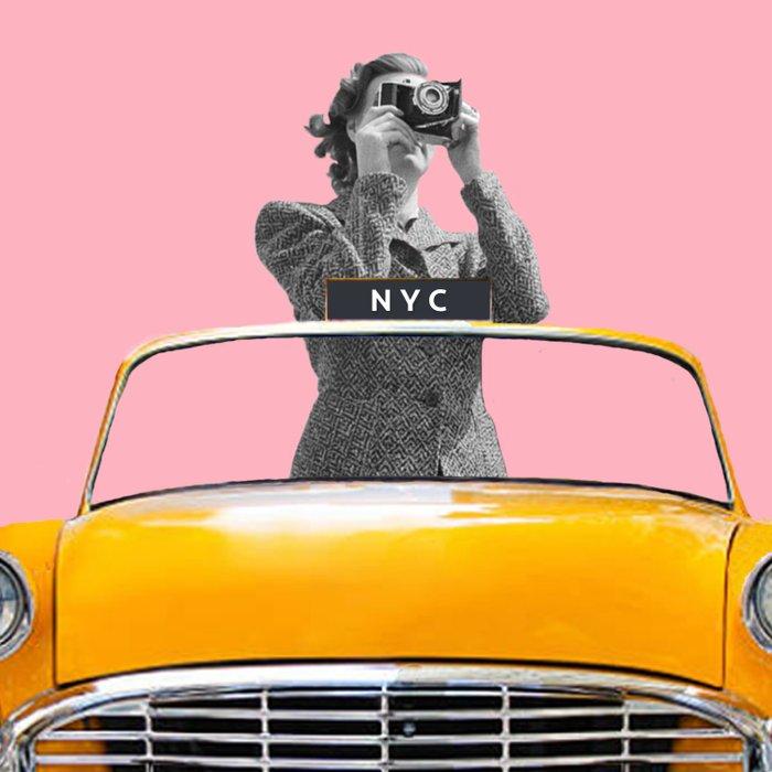 New York Ride Duvet Cover