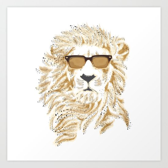 'king Cool Art Print