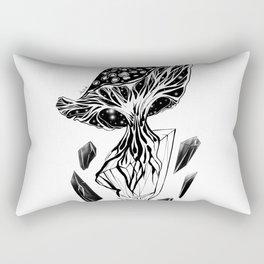 Hallucinogenic Fungus Rectangular Pillow