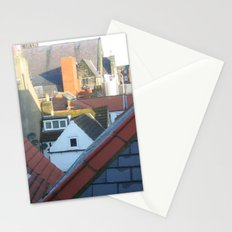Whitby Rooftops Stationery Cards