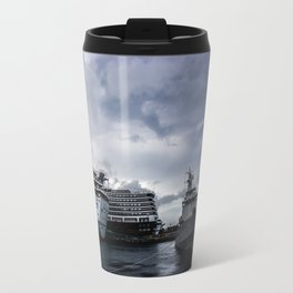 Port of Call...Nassau Travel Mug