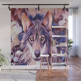 The Iberian Wolf Wall Mural