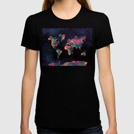 world map 74 T-shirt
