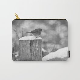 Winter beauty - hello there - Carry-All Pouch