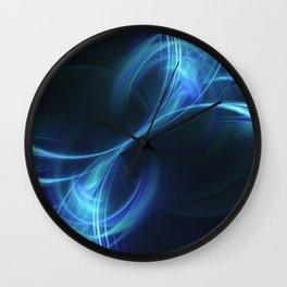 Blue Pulsar Wall Clock