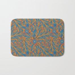 psychedelic Art Nouveau  Bath Mat