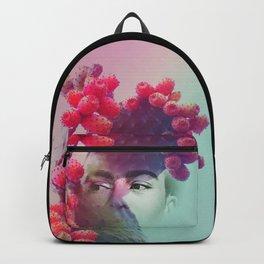 Succulent Frida #buyart #surreal Backpack