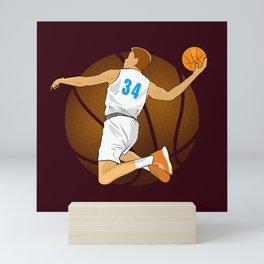 Basketball Player II Mini Art Print