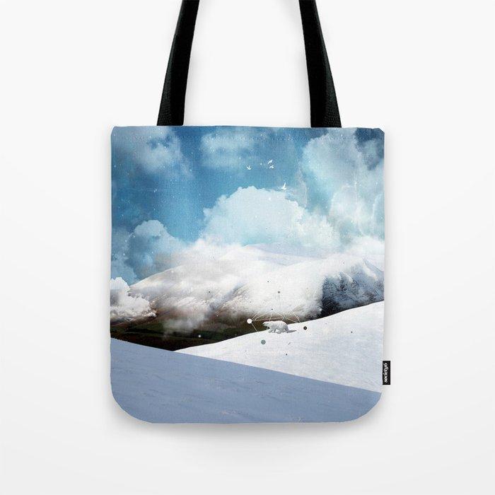 THE WHITE ODYSSEY OF HUAÏA Tote Bag