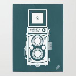 Yashica MAT 124G Camera Poster