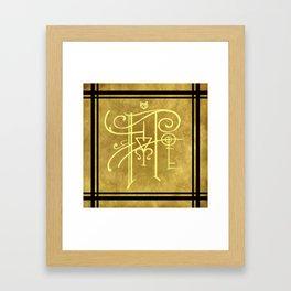 Sigil of Hufflepuff Framed Art Print